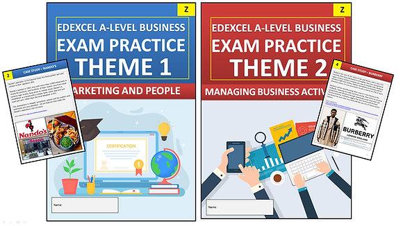 Edexcel A Level Business YEAR 1 Exam Practice (Interactive Book)