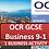 Thumbnail: OCR GCSE Business - 1 Business activity