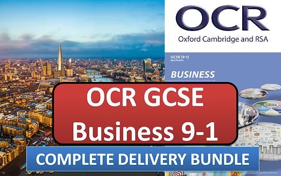 OCR GCSE Business - Complete delivery bundle