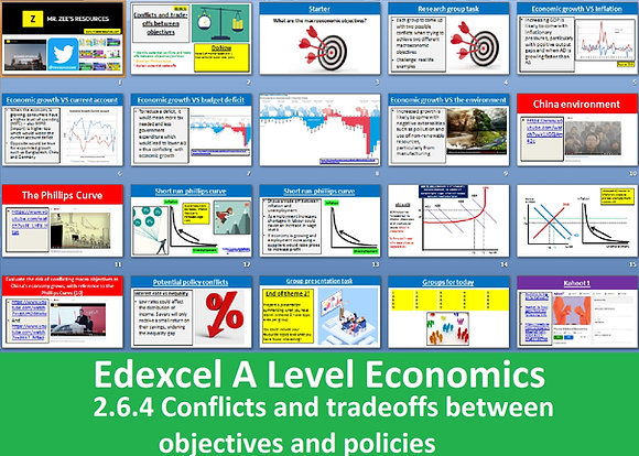 2.6.4 Conflicts and trade-offs - Theme 2 Edexcel A Level Economics