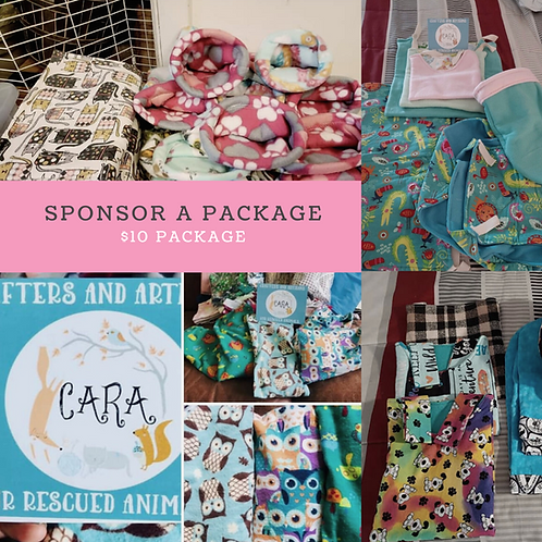 Sponsor a Package -SMALL