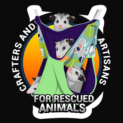 CARA Sticker -Opossum Babies