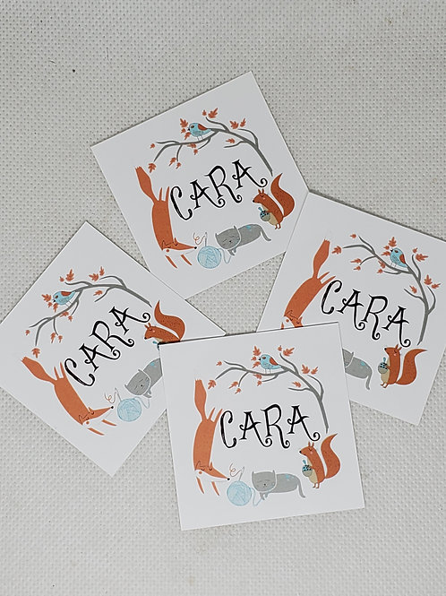 CARA Paper Stickers (set of 20)