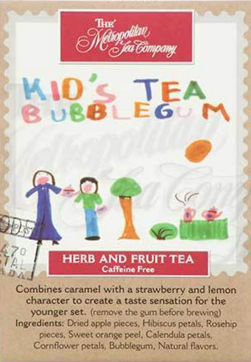 Bubblegum - Kid's Tea