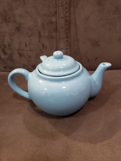 Ceramic Blue Teapot