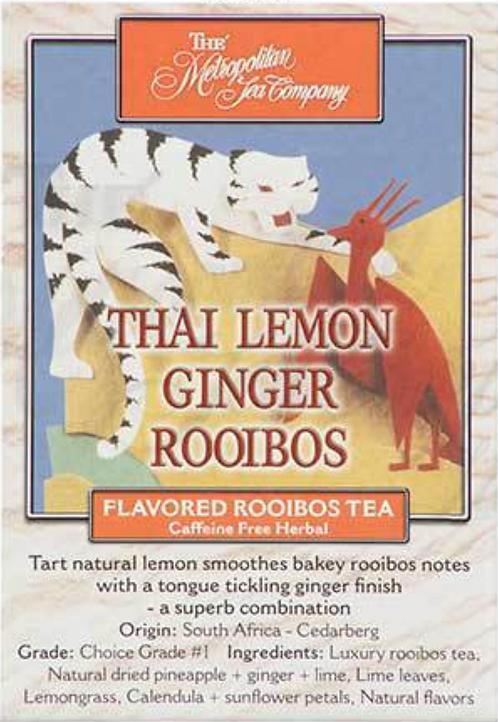 Thai Lemon Ginger