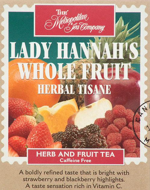 Lady Hannah's Whole Fruit