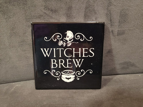 Witches Brew Ceramic Coaster