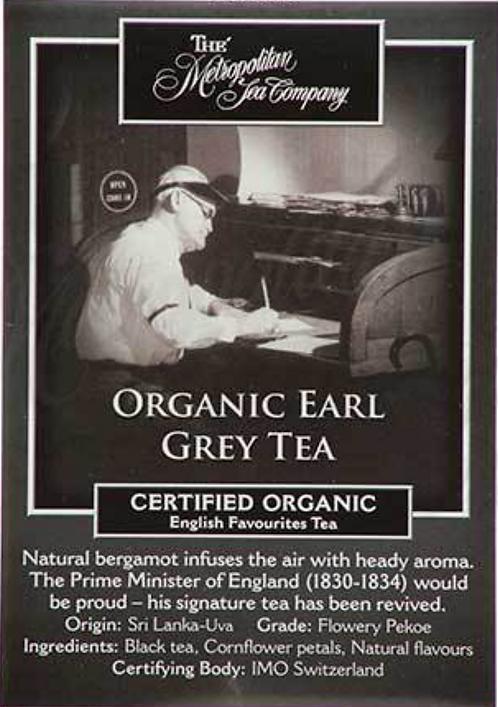Organic Earl Grey