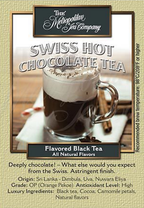 Swiss Hot Chocolate