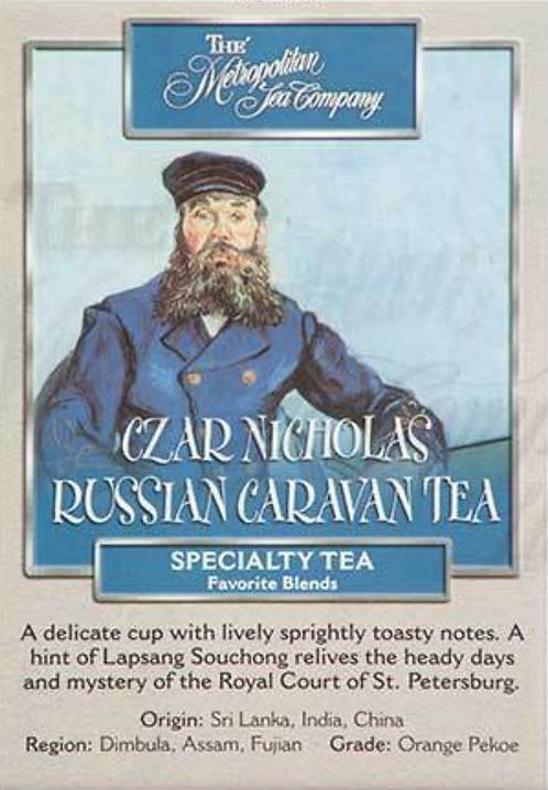 Czar Nicholas Russian Caravan
