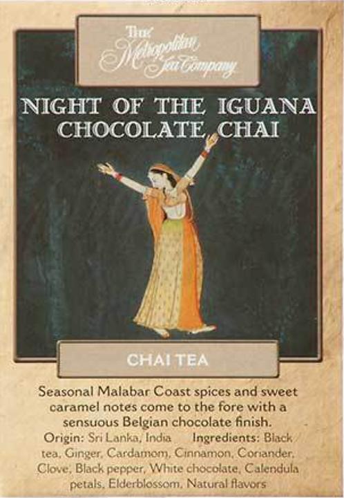 Night of the Iguana Chocolate