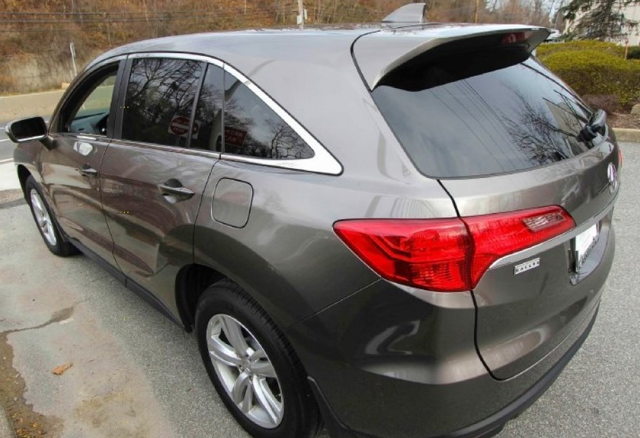 2013 Acura RDX Brown rearview 1