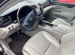 2010 Lexus LS460L Driver Inside View
