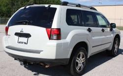 2006 Mitsubishi Endeavor White Rear 1