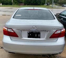 2010 Lexus LS460 Rearview 1