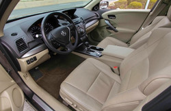 2013 Acura RDX Brown inside view 1