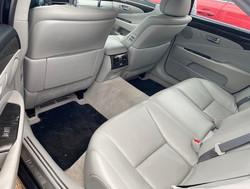 2010 Lexus LS460L Rear inside view