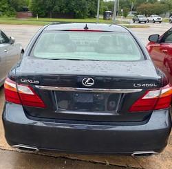 2010 Lexus LS460L Rear