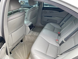 2010 Lexus LS460 Rear Seat View