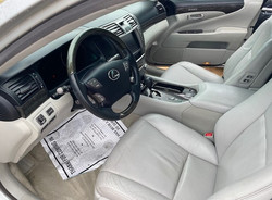 2010 Lexus LS460 Driver Inside View