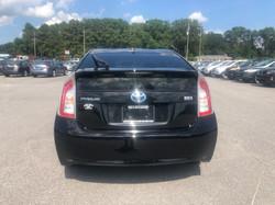 2013 Toyota Prius Black Rear