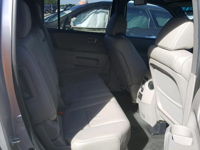2012 Honda Pilot Silver