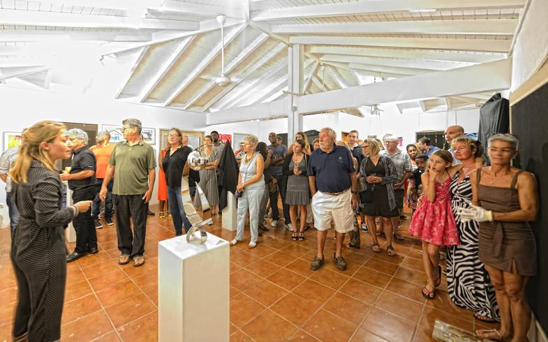 Indoor display of the NOCO Art Gallery
