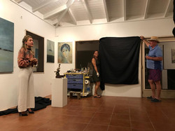 Unveiling artworks