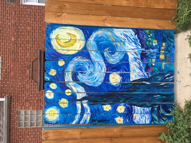 Van Gogh Gate