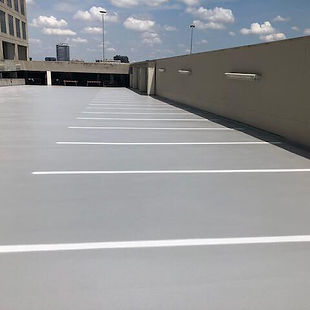 traffic coating urethane epoxy waterpoof garage restoratio