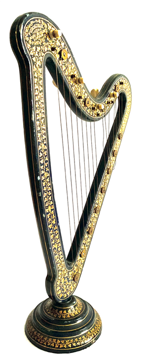 Nineteenth-century Inventiveness: Harps of all sorts