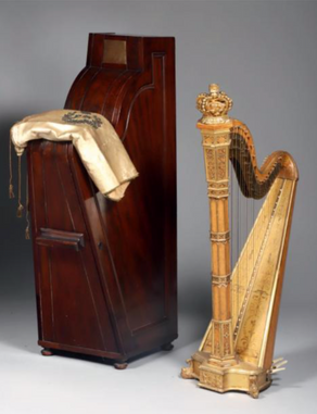 Harp for the Princess Victoria, the Princess Royal