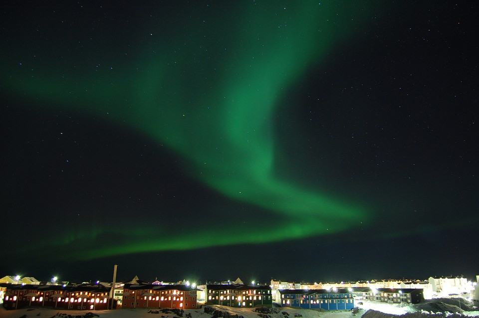 Nordlys fra Nuuk