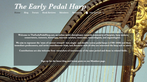 TheEarlyPedalHarp.net