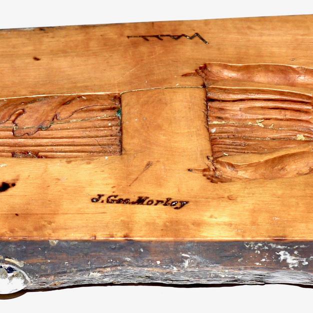Morley composition mould - Grecian Harp Caryatid c1895.jpeg
