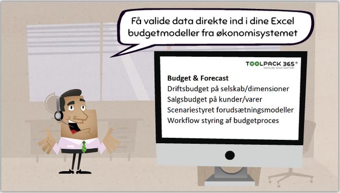 Det skal være nemmere at lave budget og forecast!