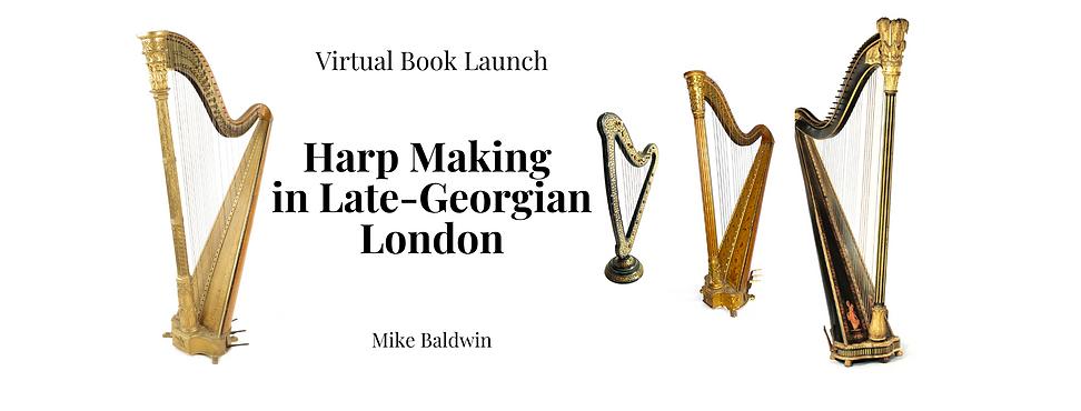 Harp Making in Late-Georgian London Book