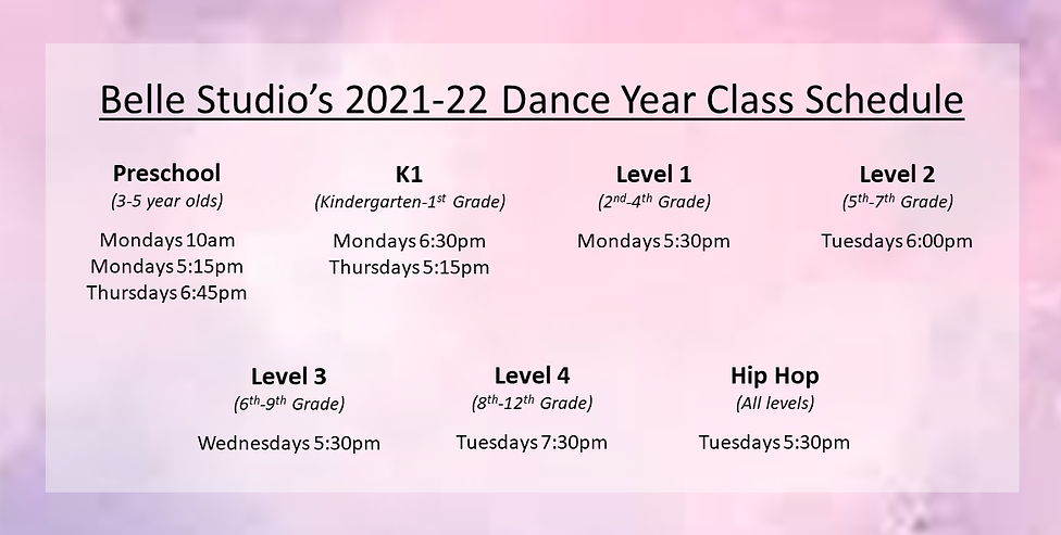 class schedule - tuition only - 21-22.png