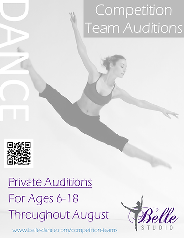 competition audition poster - private audition in august.png