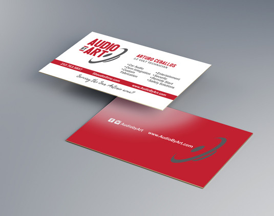2-Sided Business Card Design