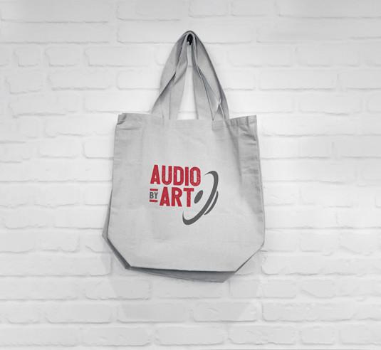 Mock up on Canvas Bag