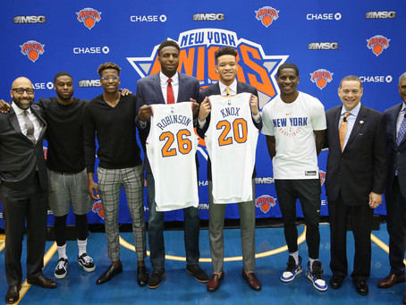 The Knicks Are Starting to Look Like A Modern NBA Team