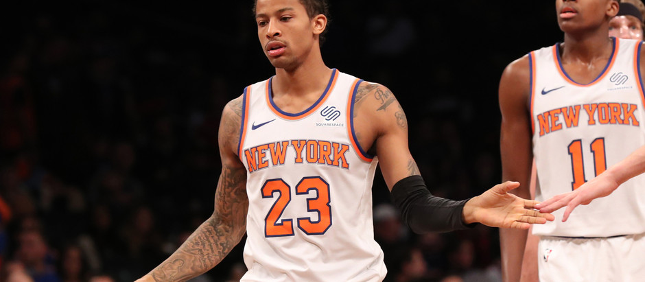 It's Officially Time For the Knicks To Overhaul Their Rotation