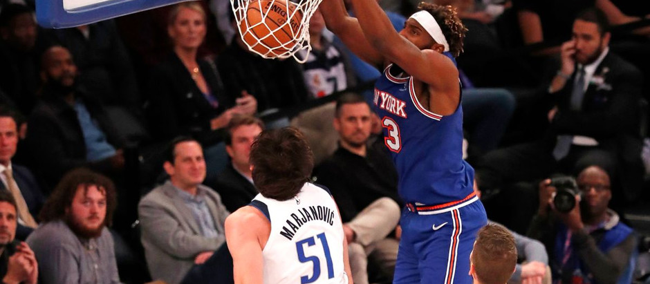 What Exactly Do the Knicks Have Against Pick and Rolls?