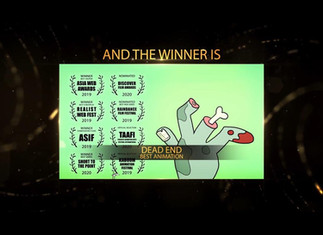 DEAD END Wins Best Animation @ Sicily Web Fest!