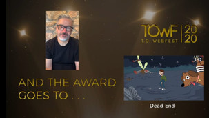 DEAD END Wins Best Animated Content at T.O Web Fest