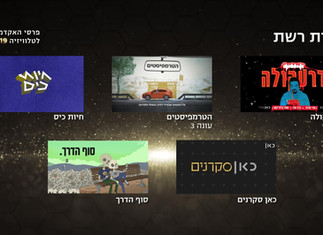 DEAD END Nominated for Israeli TV Academy Awards!