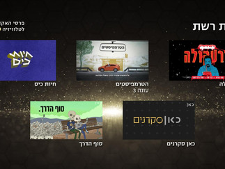 DEAD END Nominated for Israeli TV Academy Awards