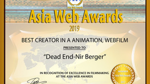 Best Creator in Animation & Webfilm @ Asia Web Awards